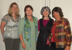 My Berkeley Hills colleagues and I received our Green Business plaque.